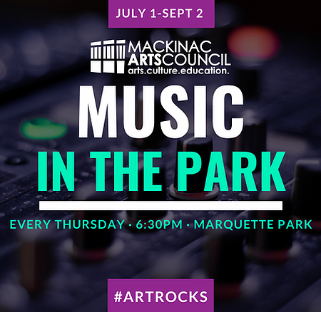 Mackinac Arts Council - Music In The Park