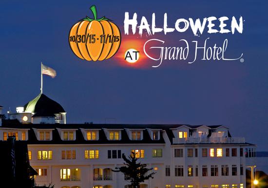 Grand Hotel  Halloween at the Grand  October 30 - November 1 Halloween