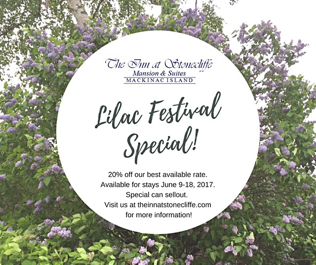 lilac festival mackinac island 2020